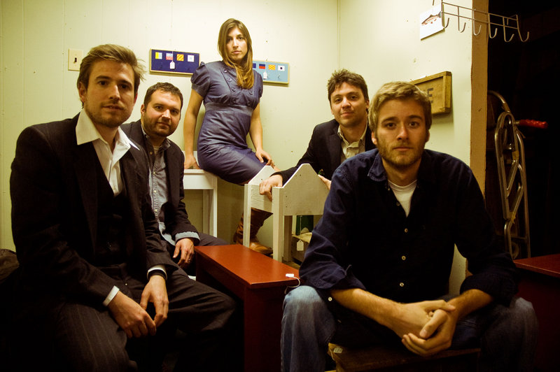 This Way is, from left, Jay Basiner, Dave Patterson, Anna Patterson, Andrew Martelle and Charlie Sichterman.