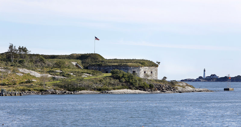 House Island in Casco Bay