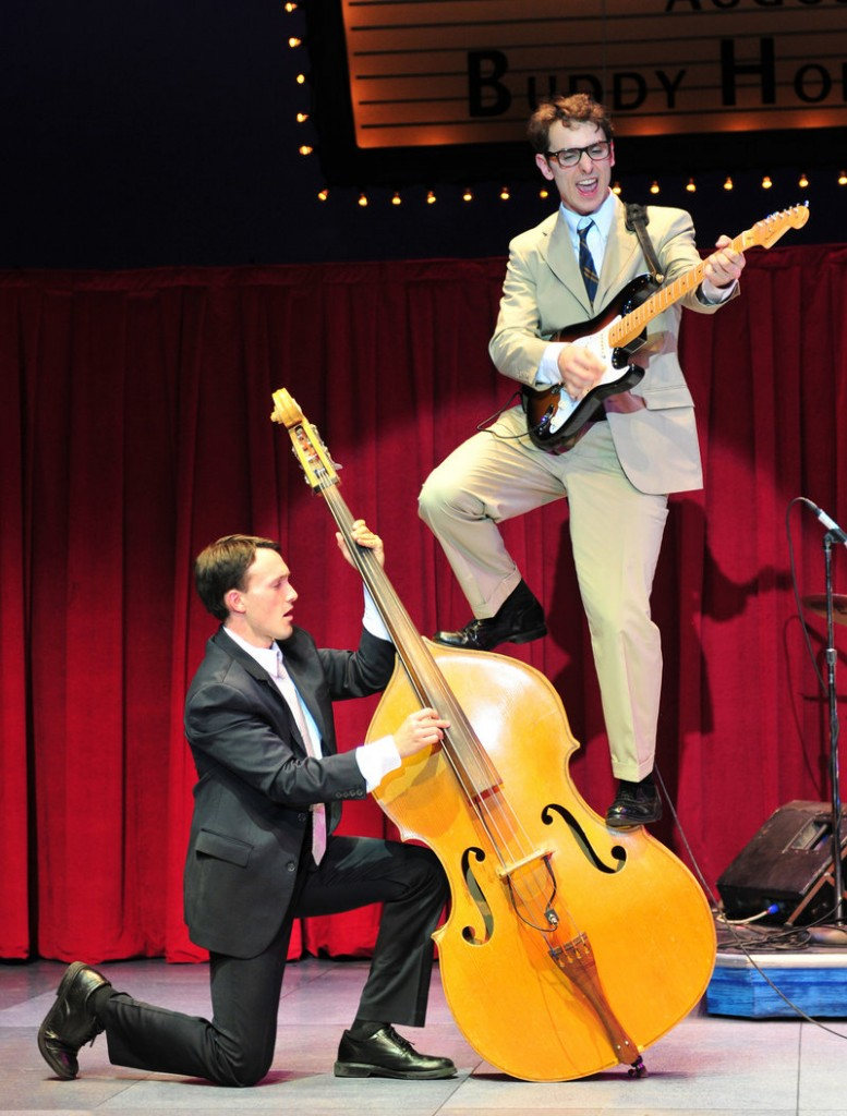 "Kurt Jenkins stars in ""Buddy: The Buddy Holly Story"" at the Ogunquit Playhouse through Oct. 21."