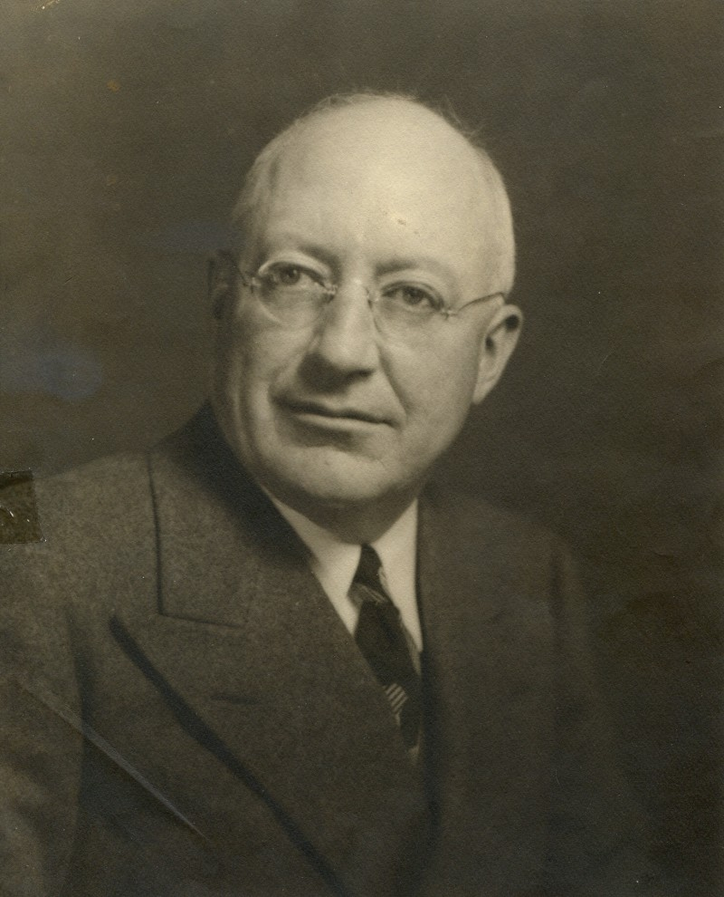 Guy P. Gannett, circa 1941. Gannett bought the Daily Press and the Portland Herald in 1921 and consolidated them into the Portland Press Herald, first published Nov. 21, 1921. File photo