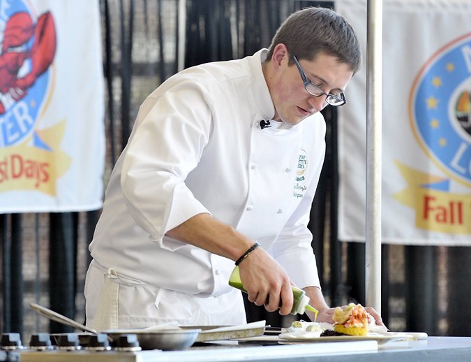 Mackenzie Arrington, in a 2009 photo, when he also won the Maine Lobster Chef of the Year competition that year.