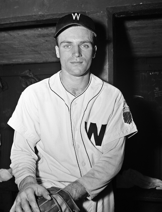 This June 3, 1947, file photo, shows Washington Senators third baseman Eddie Yost in Washington. Yost, nicknamed