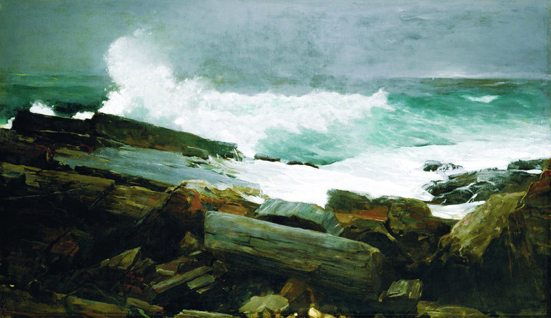 "The Portland Museum of Art's exhibition of ""Weatherbeaten: Winslow Homer and Maine"" remains on view through Dec. 30."