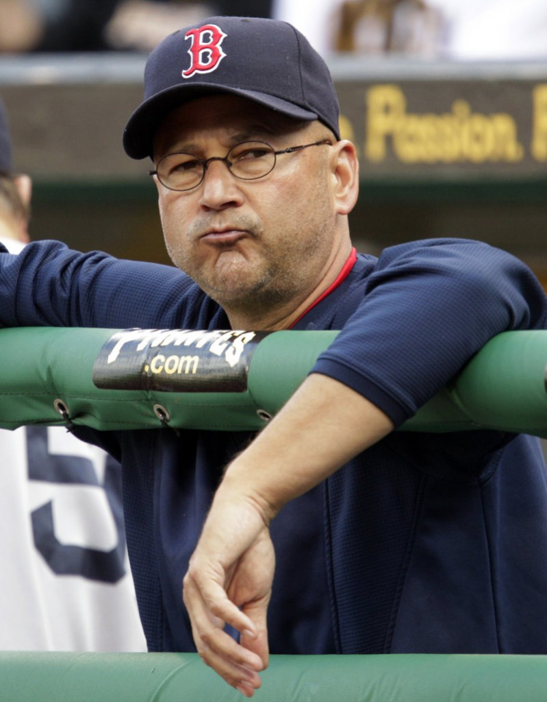 Terry Francona, who won the World Series twice as the Red Sox manager, will be introduced Monday as the Indians' manager.