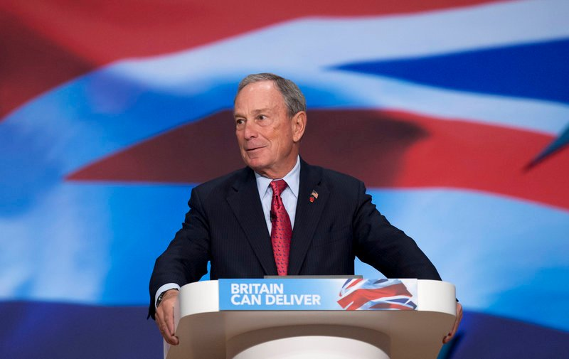 New York City Mayor Michael Bloomberg will host an invitation-only fundraiser for U.S. Senate candidate Angus King.