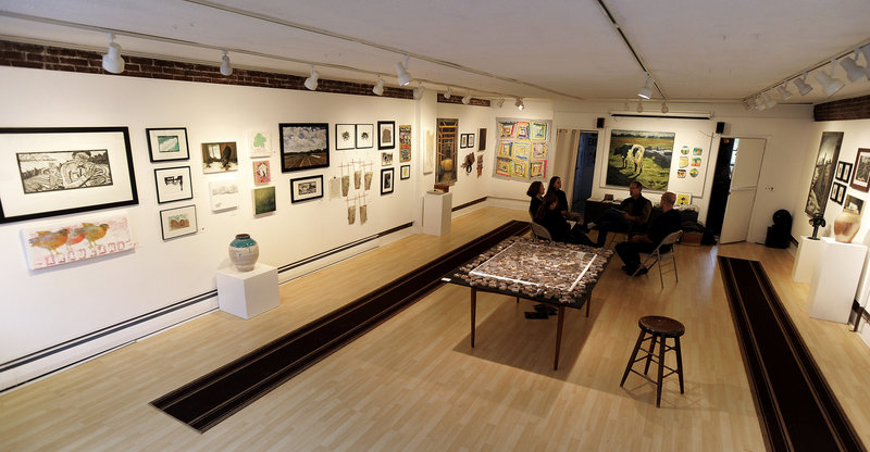 A view of the Harlow installation