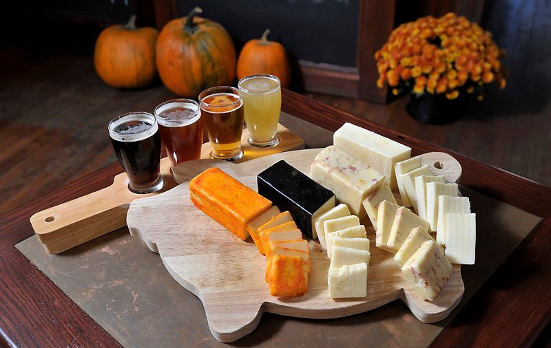 A tasting on Nov. 6 at The Thirsty Pig in Portland will pair beers and cheeses.