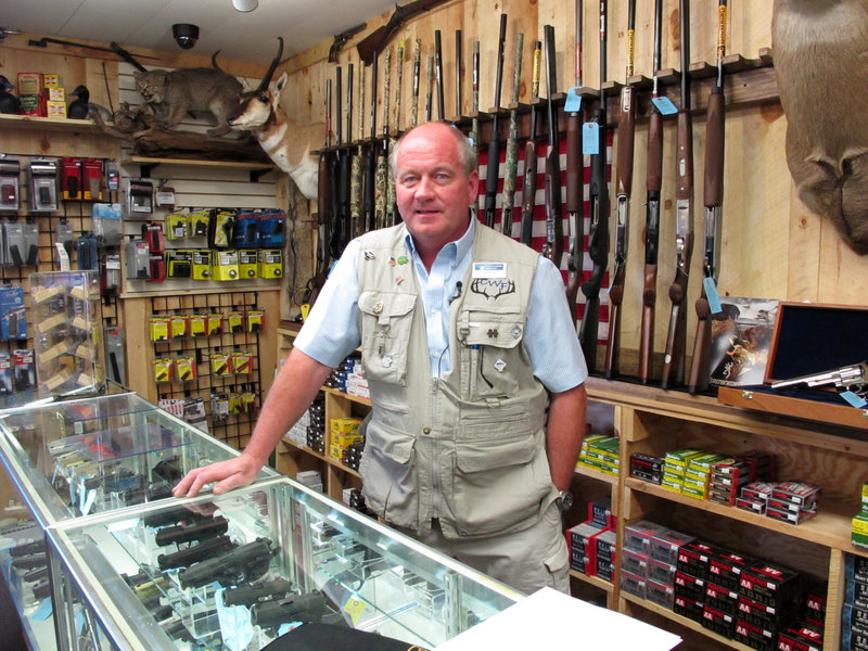 Frederick Prehn, owner of Central Wisconsin Firearms in Wausau, Wis., said he had to expand his business to a new location last summer because of increased gun sales.