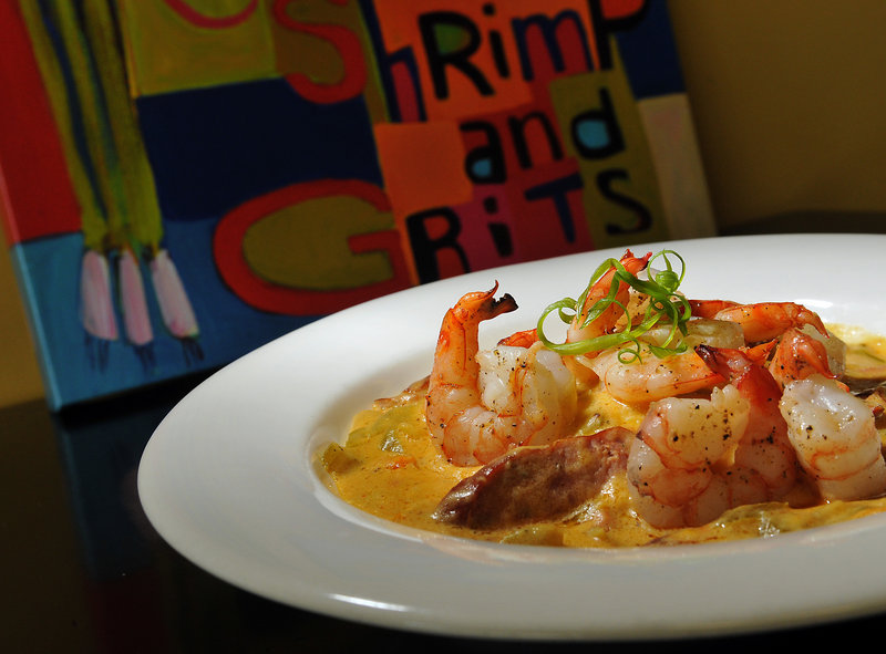 Shrimp and grits has become a signature Southern dish and high cuisine.