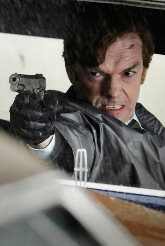 "Hugo Weaving takes aim in ""Cloud Atlas."""
