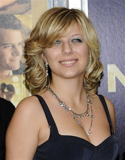 FILE - This Dec. 7, 2011 file photo shows Stephanie Bongiovi, daughter of rocker Jon Bon Jovi, at the premiere of