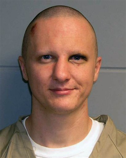 Jared Lee Loughner in a February 2011 photo released by the U.S. Marshal's Service.