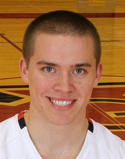 Grinnell basketball player Jack Taylor.