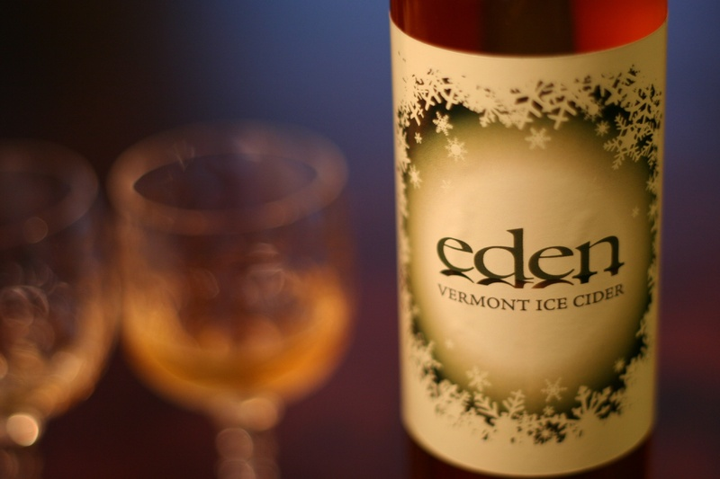 Ice cider is a not-too-sweet dessert wine that's been developed over the past decade or so in Quebec. Eden Ice Cider is made in Vermont's Northeast Kingdom.