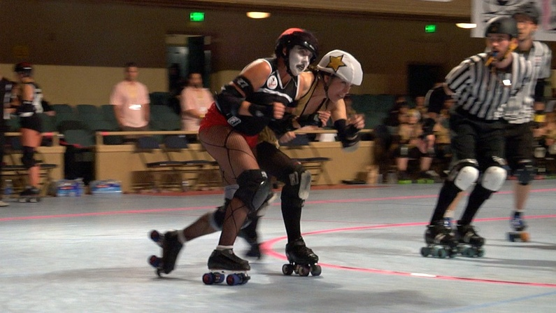 "The ""Derby Baby"" documentary, which examines the rebirth of roller derby for women, will be showing at 7:30 p.m. Saturday at Space Gallery."