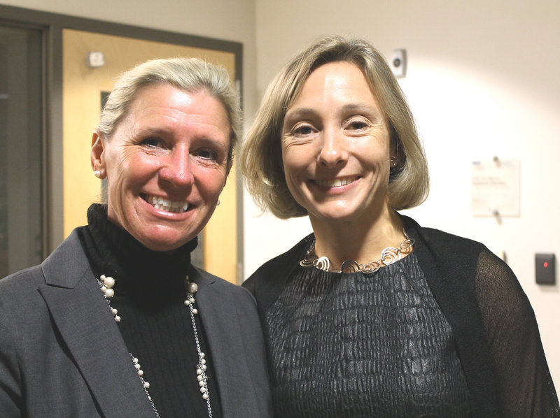 Michelle MacLean and Katie Harris of MaineHealth.