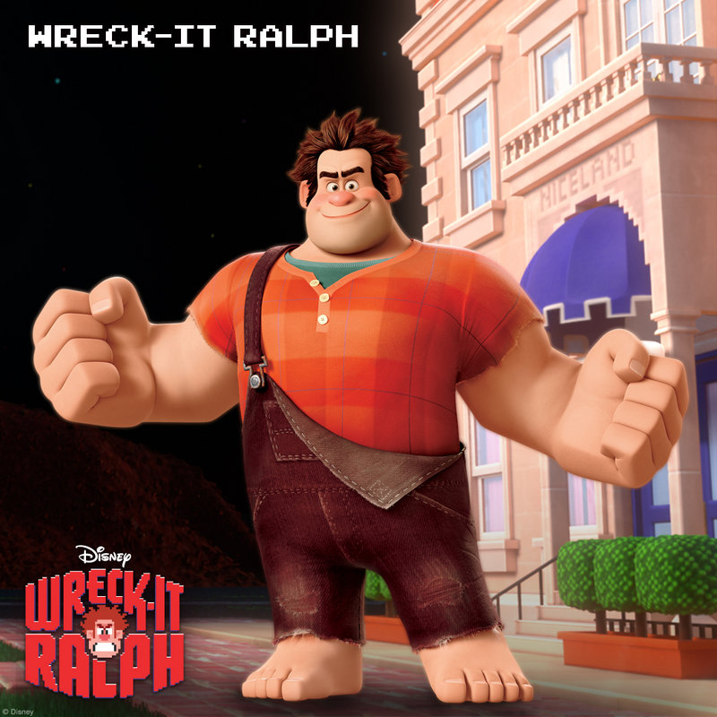 "In ""Wreck-It Ralph,"" John C. Reilly voices Ralph, a beast in a kids' video game who wants to be a hero."