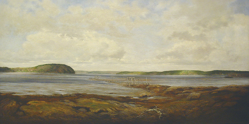 """The Kennebec River"" by Jon Allan Marshall."