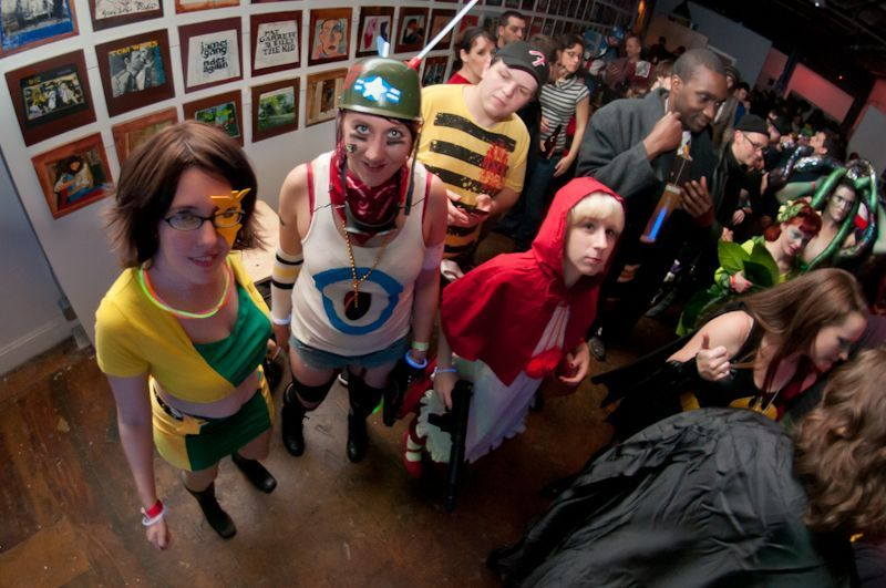 Last year's Comicon, the first, drew a crowd of costumed characters.