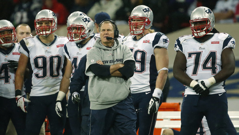 Bill Belichick and the New England Patriots are back on the practice field to prepare for the Buffalo Bills.