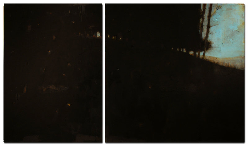 "Hall's diptych ""Greenville II"""