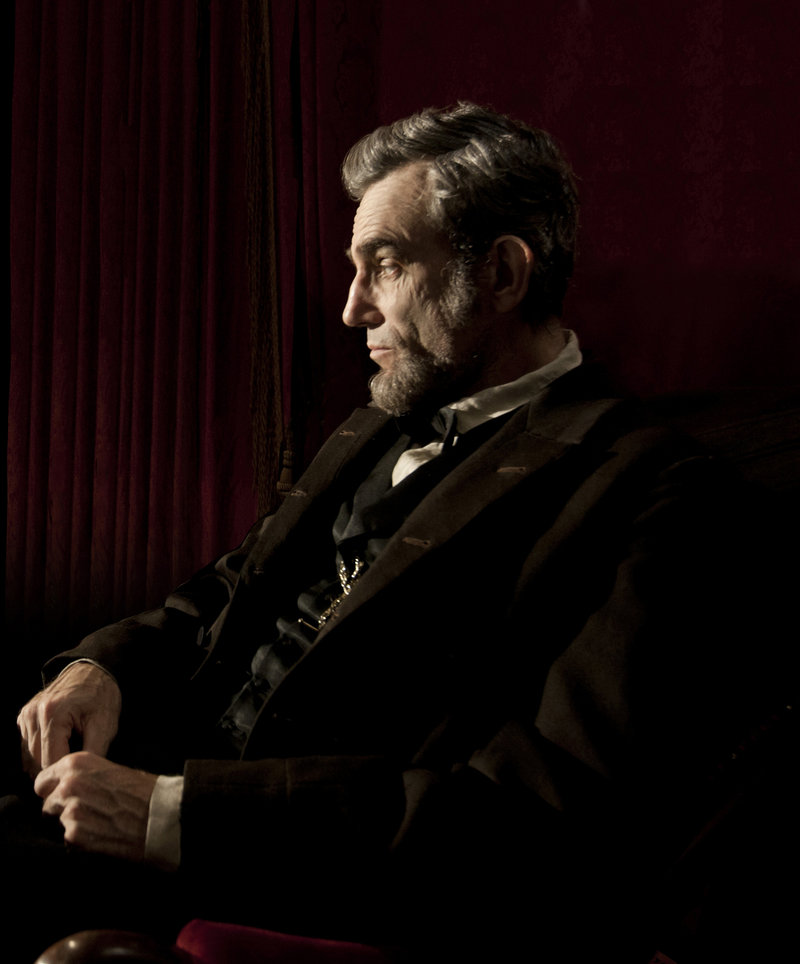 "Daniel Day-Lewis in the title role in Steven Spielberg's ""Lincoln."""