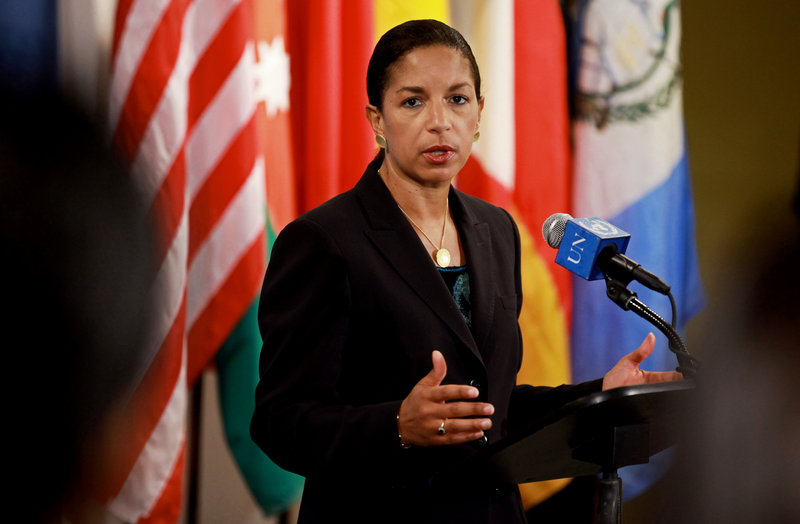 U.N. Ambassador Susan Rice is a top candidate to replace Hillary Rodham Clinton as secretary of state. She has family roots in Portland and visits a summer home in Lincolnville.