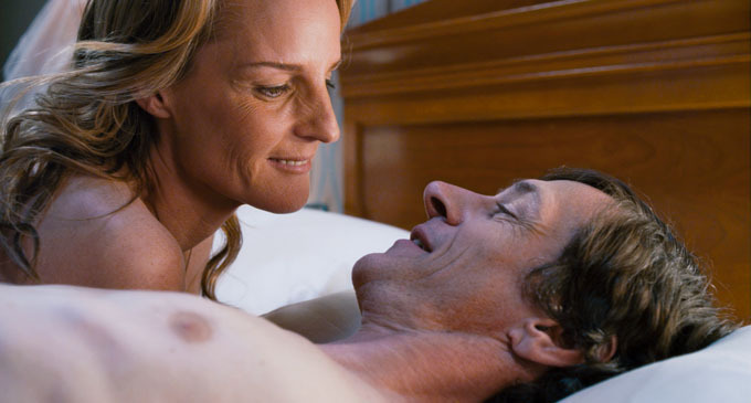 "Helen Hunt and John Hawkes in ""The Sessions,"" about a man in an iron lung who wishes to lose his virginity."