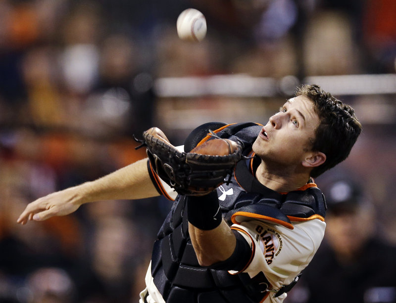 Buster Posey endured the everyday issues surrounding catching and never let it affect his offense – becoming the first catcher to win an NL batting championship since 1942.