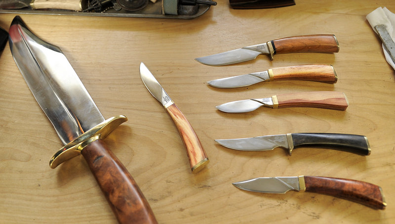 Attention to detail and sense of place make Bohrmann Knives sought-after items.