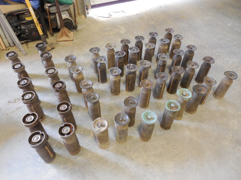 Portland and Sanford police recovered 48 of the brass memorial vases stolen from a Portland cemetery. The vases are worth about $10,000.