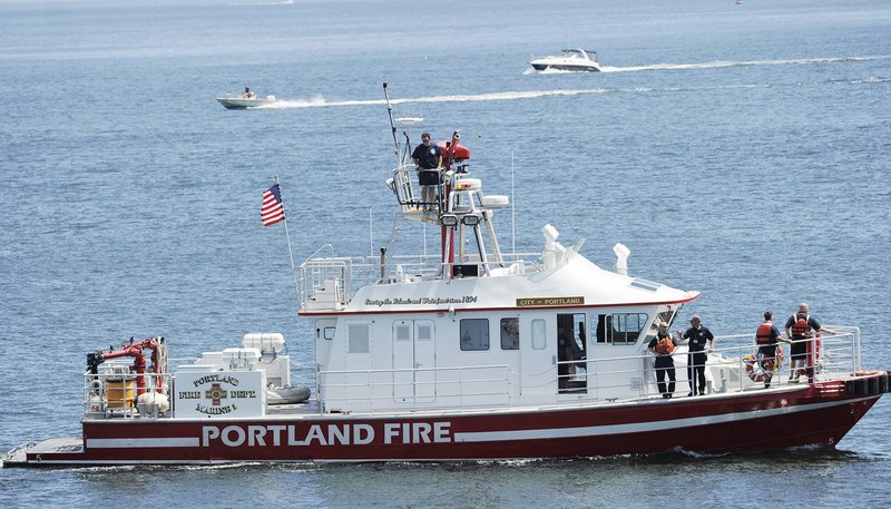 The city, after reviewing two accidents, has decided not to require Coast Guard training for pilots of the Portland fireboat.