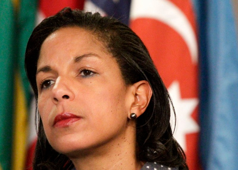 Susan Rice has supported U.S. military involvement, but not in Syria.