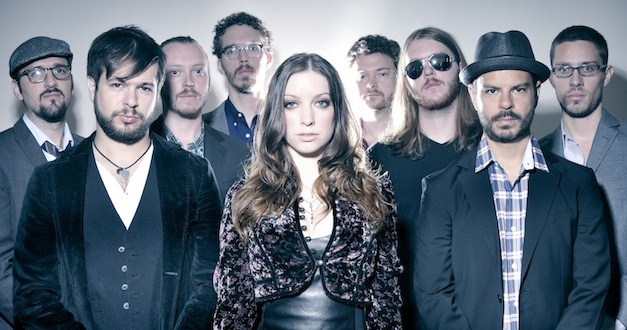 Sister Sparrow and the Dirty Birds perform their raucous rock and new soul on Friday at Port City Music Hall in Portland.