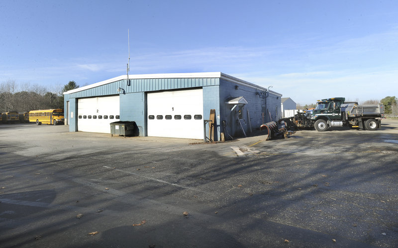A 6,000-square-foot addition to Yarmouth's public works facility, approved by voters, will include a wash bay and one new slot for vehicle maintenance, according to Erik Street, the town's director of public works.