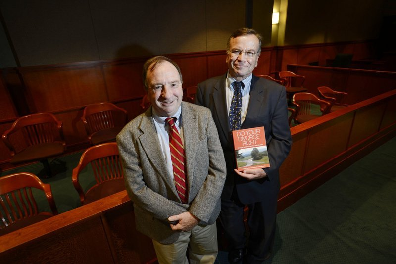 District Court Judge John David Kennedy and Superior Court Justice Andrew Horton first started talking about their book a decade ago, based on cases they had witnessed.