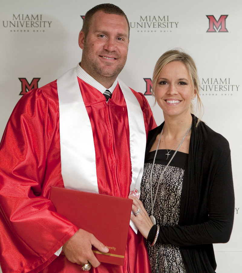Ben Roethlisberger and Ashley Harlan