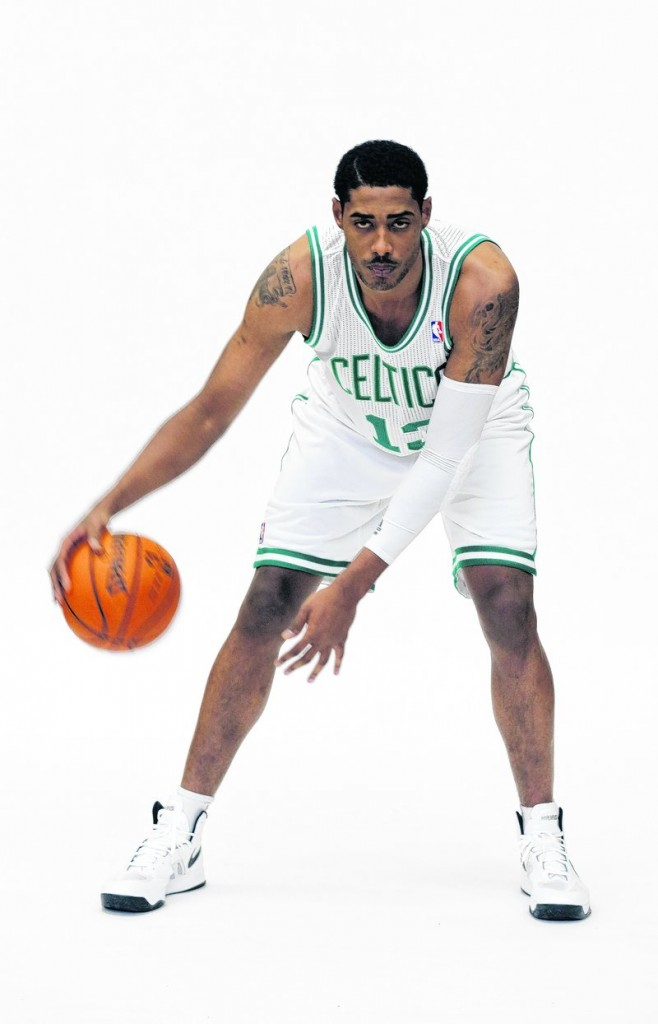 The 7-foot Fab Melo is one of two Celtics rookies playing for the Red Claws to begin the year. His college teammate at Syracuse, Kris Joseph, is the other.