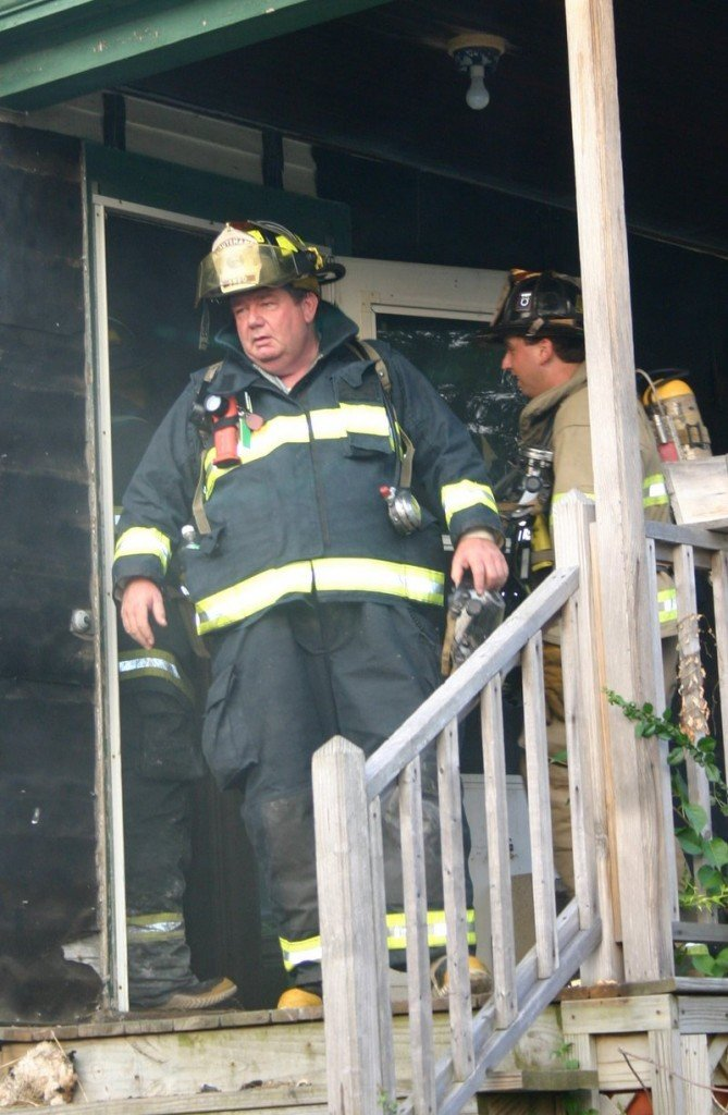 Michael Murphy served as both a full-time and volunteer firefighter for South Portland.