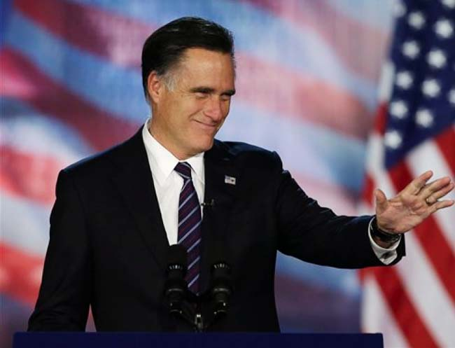 Mitt Romney lost nearly all the major battleground states to Obama including Ohio, the hardest fought prize.
