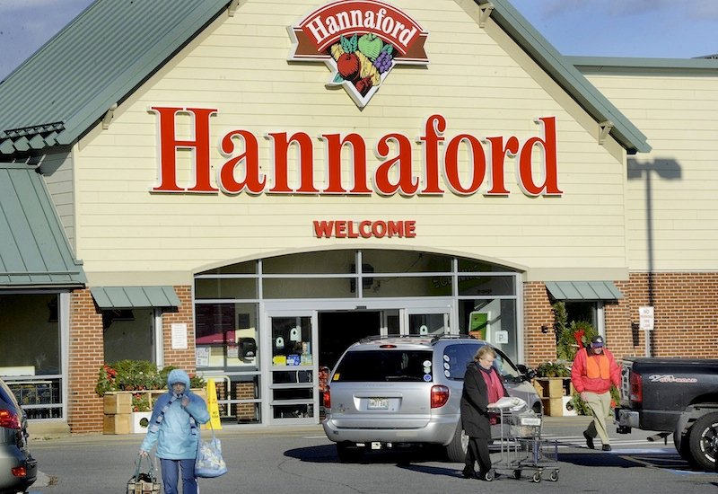In this November 2011 file photo, the Hannaford store at Mill Creek in South Portland. Consumers in Maine could see lower prices for groceries in the next year as competition among supermarkets intensifies, analysts say.