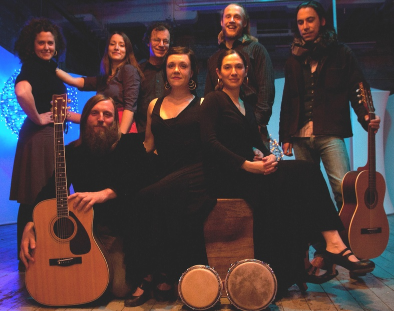The musicians and dancers of Olas are featured in a documentary about the group that will premiere on Saturday at Space Gallery.