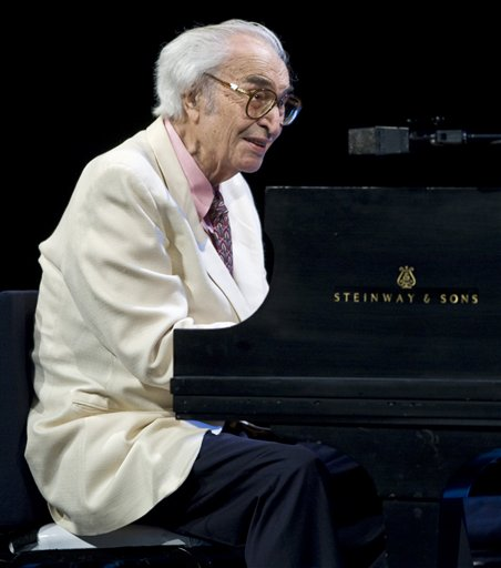 In this July 4, 2009, photo, Dave Brubeck performs at the 30th edition of the Montreal International Jazz Festival.