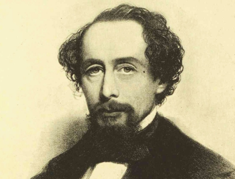 "Charles Dickens drew more than 1,200 people to Portland's old City Hall Auditorium to hear him read from his ""A Christmas Carol"" in March 1868."