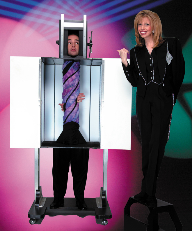 "Illusionist Lyn Dillies joins the PSO for this year's ""Magic of Christmas"" shows."