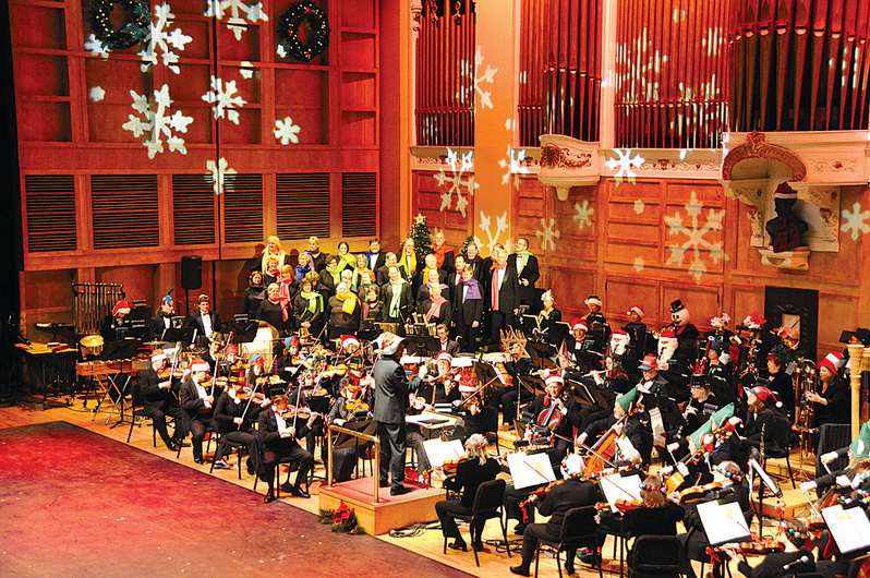 "Conductor Robert Moody and the Portland Symphony Orchestra will perform ""Magic of Christmas"" a dozen times beginning Friday at Merrill Auditorium."