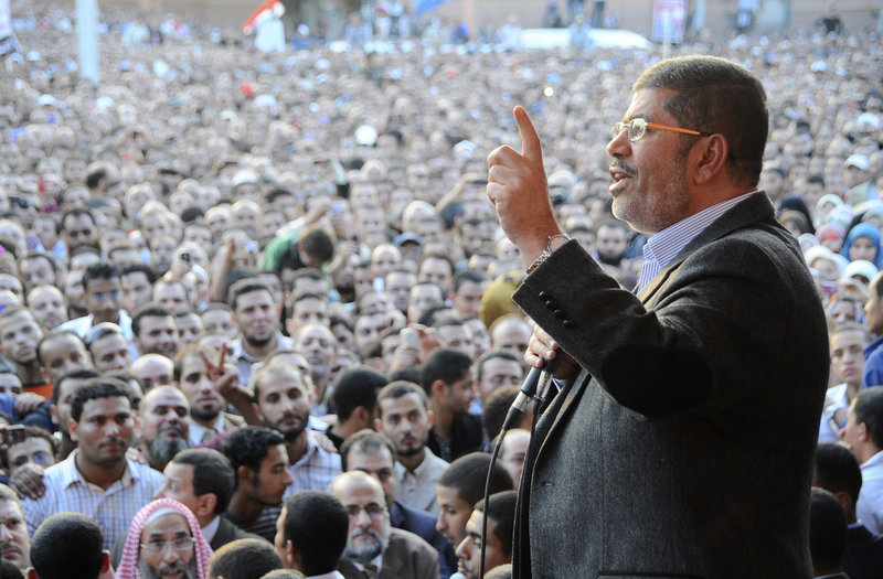 "With Mohammed Morsi as president, ""popular will is now forged into a democratic instrument"" in Egypt, presenting a challenge to Israel, a reader says."