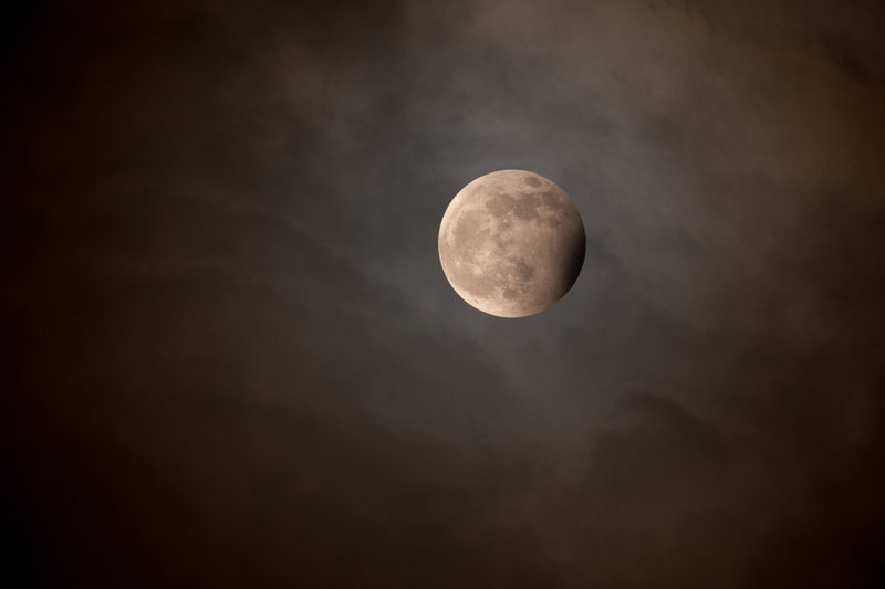 """Blue Moon Eclipse"" by Jean-Paul Roux"