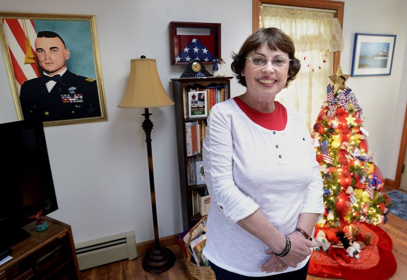 Nancy Lee Kelley, a Gold Star mother from Old Orchard Beach and founder of Hugs of Love, is refocusing the group's attention on helping veterans close to home.