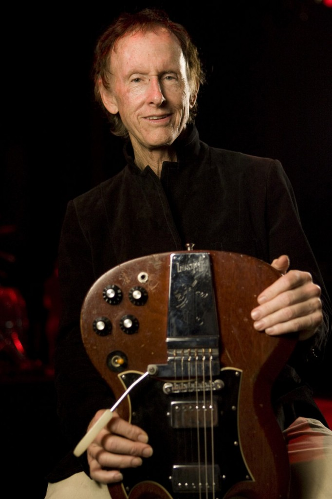 Robby Krieger plays Port City Music Hall on Saturday.